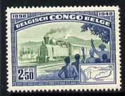 Belgian Congo 1948 Anniversary of Matadi-Leopoldville Railway 2f50 unmounted mint, SG 292