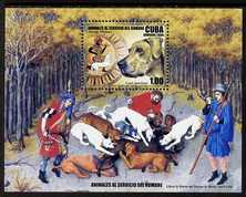 Cuba 2006 Hunting With Dogs perf m/sheet unmounted mint SG MS 4993
