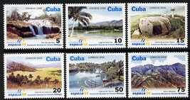 Cuba 2006 Espana 06 Stamp Exhibition (Tourist Sites) perf set of 6 unmounted mint SG 4980-85