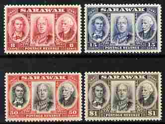 Sarawak 1946 Centenary issue perf set of 4 mounted mint SG 146-9