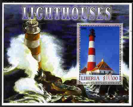 Liberia 2005 Lighthouses #02 perf m/sheet unmounted mint