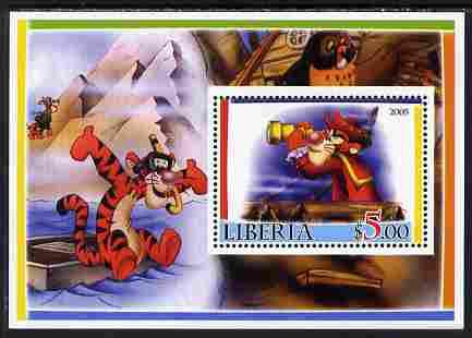 Liberia 2005 Disney's Tigger perf m/sheet #1 unmounted mint