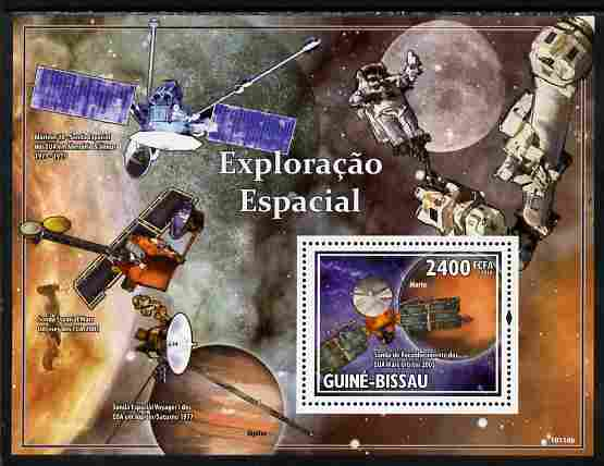 Guinea - Bissau 2010 Space Probes perf s/sheet unmounted mint