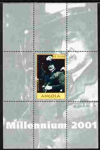 Angola 2001 Millennium series - Baden Powell perf s/sheet unmounted mint. Note this item is privately produced and is offered purely on its thematic appeal
