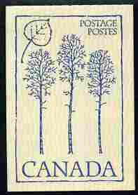 Booklet - Canada 1979 Flowers & Trees - Trembling Aspen 50c booklet (blue on crean cover) complete and pristine, SG SB 86g