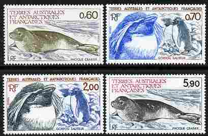 French Southern & Antarctic Territories 1984 Antarctic Wildlife set of 4 unmounted mint, SG 184-7