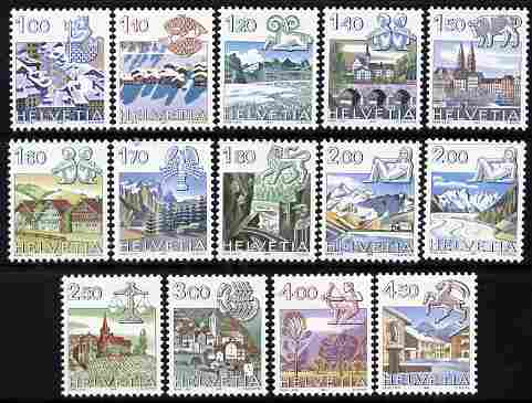 Switzerland 1982 Signs of the Zociac perf set of 14 unmounted mint SG 1034-45