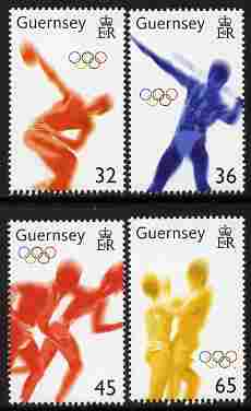 Guernsey 2004 Athens Olympic Games perf set of 4 unmounted mint, SG 1045-48