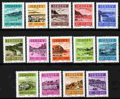 Jersey 1982 Postage Due set of 14 complete unmounted mint, SG D21-32