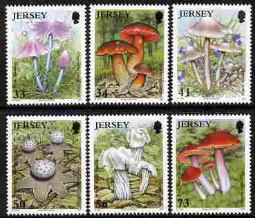 Jersey 2005 Fungi perf set of 6 unmounted mint, SG 1240-45