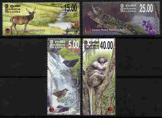 Sri Lanka 2010 Horton Plains National Park perf set of 4 unmounted mint