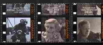 Denmark 1989 Danish Film Industry perf set of 3 unmounted mint SG 891-93