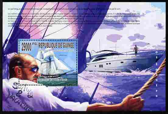 Guinea - Conakry 2010 Sailing & Yachting perf m/sheet unmounted mint