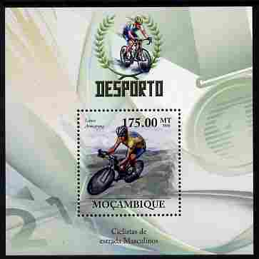 Mozambique 2010 Road Cycle Racing perf m/sheet unmounted mint