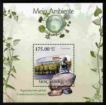 Mozambique 2010 The Environment - Global Warming perf m/sheet unmounted mint Michel BL 314