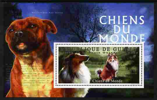 Guinea - Conakry 2009 Dogs of the World #3 perf m/sheet unmounted mint Michel BL 1790
