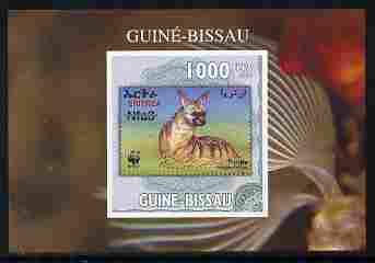 Guinea - Bissau 2010 WWF - Stamp On Stamp #5 - Protele (Eritrea) individual imperf deluxe sheet unmounted mint. Note this item is privately produced and is offered purely on its thematic appeal