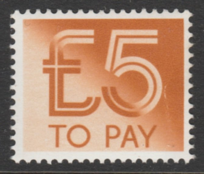 GB 1982 Postage Due \A35 unmounted mint SG D101 cat \A314 offered just below face value, stamps on