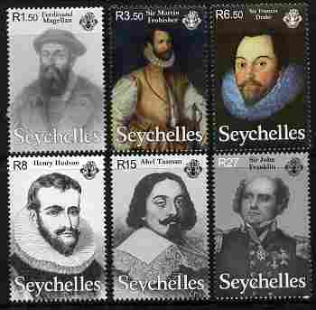 Seychelles 2009 Seafaring and Exploration perf set of 6 unmounted mint, SG 966-71