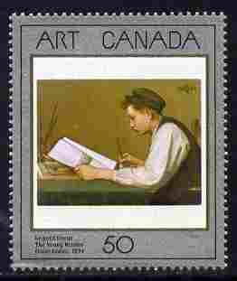 Canada 1988 Canadian Art - 1st series - The Young Reader 50c unmounted mint, SG 1289
