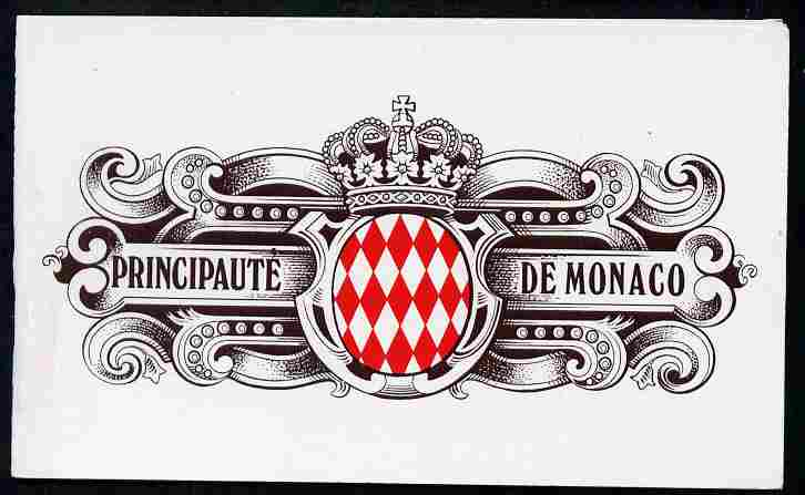 Booklet - Monaco 1992 Old Monaco (La Placette Bosio) 21f booklet complete and very fine, SG SB8