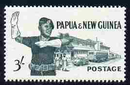 Papua New Guinea 1961-62 Traffic Policeman 3s unmounted mint SG 32