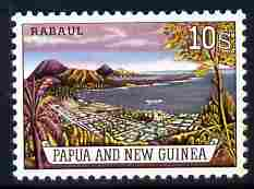 Papua New Guinea 1963 Rabaul 10s unmounted mint, SG 44