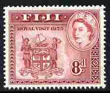 Fiji 1953 Royal Visit 8d Arms unmounted mint, SG 279