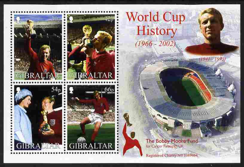 Gibraltar 2002 Football World Cup - England