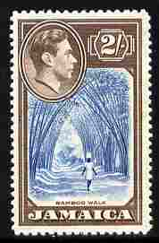 Jamaica 1938-52 KG6 Bamboo Walk 2s unmounted mint, SG 131