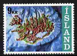 Iceland 1972 Iceland's Offshore Claims 9k unmounted mint SG 499