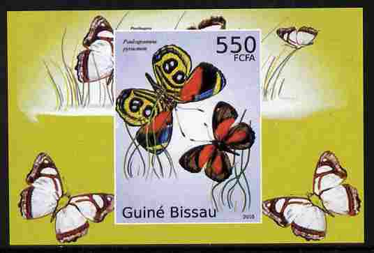 Guinea - Bissau 2010 Butterflies #03 individual imperf deluxe sheet unmounted mint. Note this item is privately produced and is offered purely on its thematic appeal