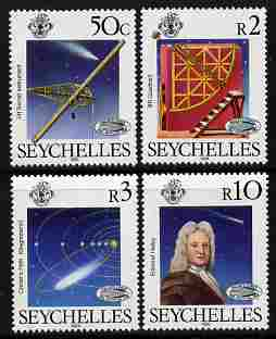 Seychelles 1986 Halley's Comet set of 4 unmounted mint SG 632-35
