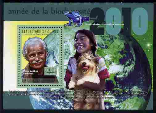 Guinea - Conakry 2010 Year of Biodiversity perf s/sheet unmounted mint, Michel BL 1862