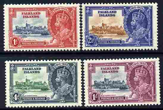 Falkland Islands 1935 KG5 Silver Jubilee set of 4 mounted mint SG 139-42