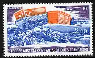 French Southern & Antarctic Territories 1981 Antarctic Transport 2f40 unmounted mint SG 154