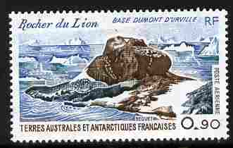 French Southern & Antarctic Territories 1980 Dumont D'Urville Base 90c unmounted mint SG 144
