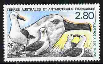 French Southern & Antarctic Territories 1990 Yellow-Nosed Albatross 2f80 unmounted mint SG 262