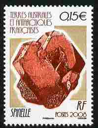 French Southern & Antarctic Territories 2008 Spinel 15c unmounted mint SG 598