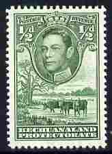 Bechuanaland 1938-52 KG6 1/2d deep-green unmounted mint SG 118c