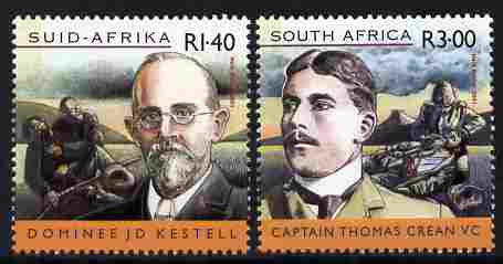 South Africa 2001 Centenary of Anglo-Boer War - 3rd issue perf set of 2 unmounted mint SG 1343-4