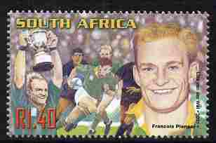 South Africa 2001 Sporting Heroes - Francois Pienaar (rugby) 1r40 unmounted mint SG 1250