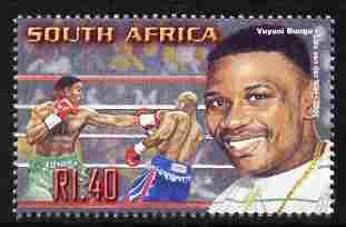 South Africa 2001 Sporting Heroes - Vuyani Bungu (boxing) 1r40 unmounted mint SG 1257