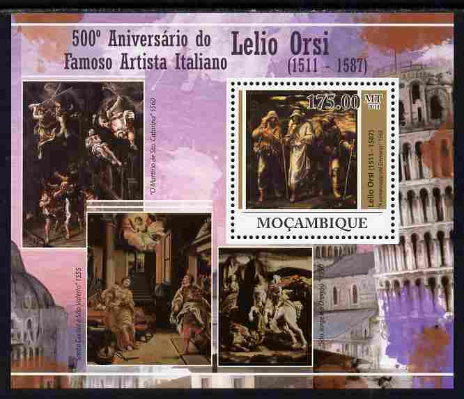 Mozambique 2011 Fifth Birth Centenary of Lelio Orsi perf s/sheet unmounted mint Michel BL 434
