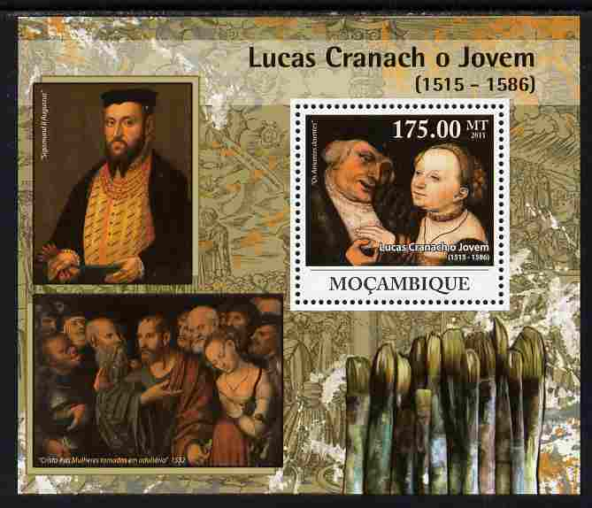 Mozambique 2011 Lucas Cranach the Younger perf s/sheet unmounted mint Michel BL 435