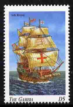 Gambia 1998 Ships - Ark Royal 5D unmounted mint SG 2909