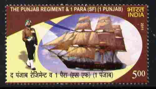 India 2011 The Punjab Regiment unmounted mint