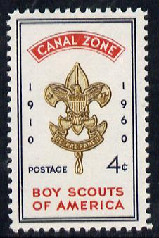 Canal Zone 1960 Scout Anniversary unmounted mint, SG 216*