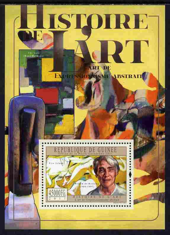 Guinea - Conakry 2011 History of Art - Abstract Art perf s/sheet unmounted mint