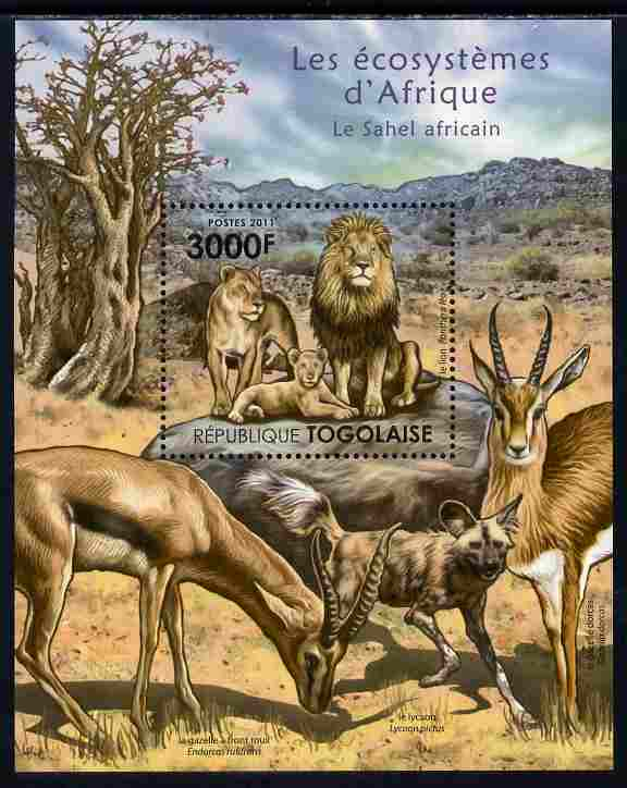 Togo 2011 Ecosystem of Africa - The Sahel Region perf s/sheet unmounted mint